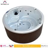 Baquet rond acrylique de tourbillon de balayage de STATION THERMALE de massage hydraulique