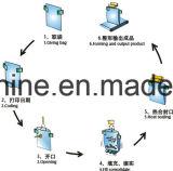 Máquina de embalagem giratória do malote