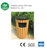 Cubo de basura constante al aire libre del jardín de la calidad de WPC
