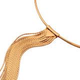 Monili della collana del Choker della nappa della lega del metallo di modo