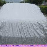 Tafetán polivinílico con la capa de la hebra para la cubierta del coche