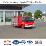 euro de lutte contre l'incendie 4 de camion de réservoir d'eau de 3ton Jmc
