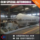 중국은 이동할 수 있는 20000liters 8ton LPG에 의하여 미끄럼 거치된 플랜트를 만든다