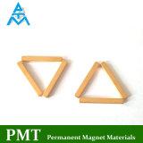 Gouden Magnetisch Materiaal met het Permanente Borium van het Ijzer van het Neodymium (NdFeB)