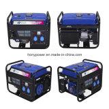groupe électrogène portatif refroidi par air d'essence du pouvoir 2-5kw avec du ce