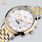 Mond-Phasen-Luxuxchronograph Tourbillon automatische mechanische Mann-Uhren 72242