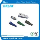 Atenuador fijo óptico de fibra de LC/PC