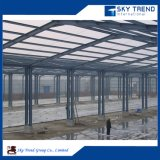 가벼운 단면도 강철 구조물의 작업장 플랜트 건물