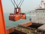 Projet de reconstruction pour le bord du quai de conteneur utilisé dans le port