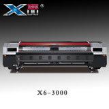 impresora solvente Digitaces de la inyección de tinta de lujo principal de los 3.2m Konica 512I*12 con velocidad