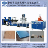 Guotai는 PVC Windows 단면도 압출기 기계를 주문을 받아서 만들었다