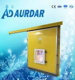 Porte coulissante d'acier inoxydable d'entreposage au froid de porte coulissante de chambre froide de bonne qualité d'Aurdar