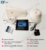 Justierbarer Doppelband2g 3G G/M WCDMA 900MHz 2100MHz mobiler Signal-Verstärker des Gewinn-