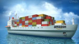 Transporte do mar de China ao Fba BRITÂNICO de Amazon