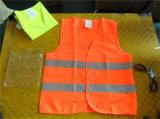 Veste elevada da visibilidade da proteção do equipamento de segurança da estrada do tráfego