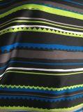 tissu de textile de gabardine du polyester 300d avec l'enduit d'unité centrale et impression pour des jupes