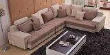 Sofá de madera de la tela clásica de los muebles (HX-SL012)