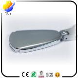 Heiße Art-Vierecks-Form gravierte Metallzink-Legierungs-Schlüsselkette