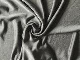 Il tessuto della Jersey del cotone di seta, seta ha lavorato a maglia il tessuto, tessuto di seta della Jersey