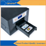 Принтер Desktop размера принтера A4 случая телефона цифров UV с белыми чернилами