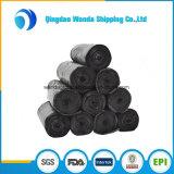 余分構築の無駄のための強い黒LDPEのプラスチックごみ袋