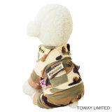 Vêtements d'animal familier de salopette de crabot de qualité de camouflage de qualité
