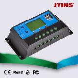 Controlador de carga solar 12V / 24V 10A 20A 30A PWM automática