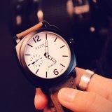 339 het nieuwe Polshorloge van de Sport van het Horloge van het Roestvrij staal van het Ontwerp Achter Unisex- Lichtgevende