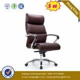 Moderne Büromöbel-Manager aus Metall aus Leder Bürostuhl (HX-K011)
