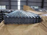 Zinco de aço do metal ondulado por atacado galvanizado telhando a folha