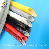 UL de goedgekeurde Glasvezel Sleeving van het Silicone 2.5kv voor de Bescherming van de Draad