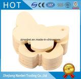 Boîte-cadeau en bois guindineau fait sur commande de logo de petit pour la boucle d'oreille de collier de boucle