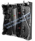 P2.5 실내 480X480mm 호리호리하고 가벼운 cabient 임대료 발광 다이오드 표시 스크린