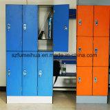 Zの形のオレンジ使用された体操のロッカーの製造業者