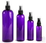 botella púrpura del animal doméstico de 1oz 2oz 4oz 8oz 16oz Cosmo con el rociador fino de la niebla