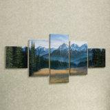 Arte natural barata da impressão da lona do cenário de Dropship com fotos