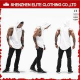 Singulets blancs ordinaires bon marché en gros de gymnastique de mode (ELTVI-8)
