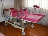 AG-C101A01 세륨 &ISO 분홍색 병원 부인과 검사 테이블