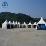 Белые водоустойчивые шатры сени Gazebo Pagoda ткани PVC для сбывания