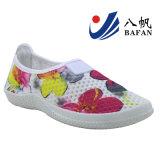 Lo sport semplice superiore della maglia del fiore calza Bf1610134