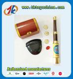 Télescope de pirate de fournisseur de la Chine et jouet de trésor pour des gosses