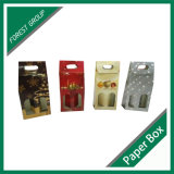 Bouteille de vin de empaquetage de cadre ondulé respectueux de l'environnement de carton
