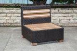 屋外の家具(LN-3001-1)のためのチークの枝編み細工品か藤のソファー