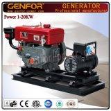 공장 직매 디젤 엔진 발전기 Genfor 발전기 세트 5kw