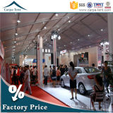 一義的な30mx40m Clear Span Structure Canton Fair Marquee Large Exhibition Tent