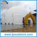 Tienda de circo al aire libre grande de la tienda de la media esfera de la tienda los 50m de la bóveda