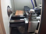 Ck61100水平の平床式トレーラーCNCの回転旋盤の工作機械