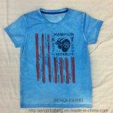 T-shirt van de Jongen van de Was van de manier de Zachte in Kleren sq-6318 van Jonge geitjes