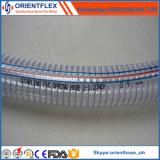 Tubo flessibile di rinforzo del filo di acciaio del PVC del Anti-Prodotto chimico