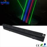 Het Licht van de LEIDENE 8 Hoofd Lichte LEIDENE van het Aftasten Disco van de Laser